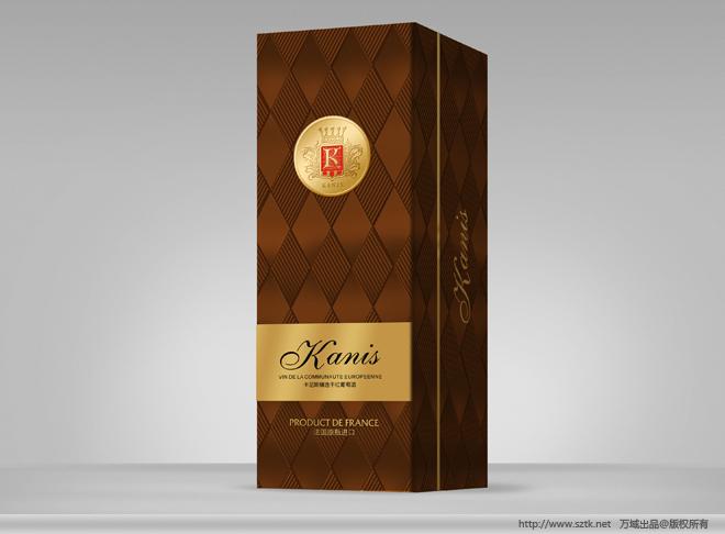项目概况:葡萄酒包装盒设计 葡萄酒瓶设计 瓶贴设计